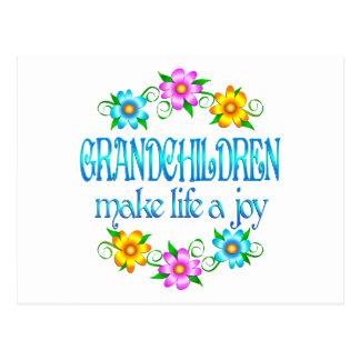 Grandchildren Joy Postcard