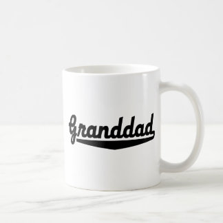 granddad basic white mug