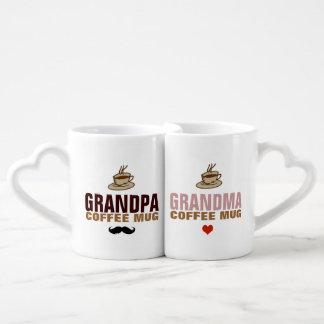 granddad grandmom idea lovers mug sets