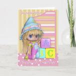 Granddaughter 1st Birthday Card With Cute Girlbrdiv Classdesc