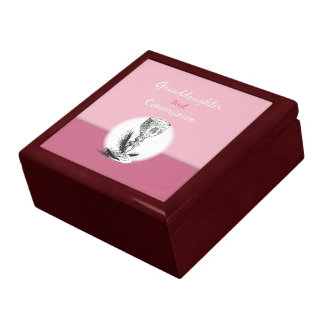 Granddaughter First Communion Pink, Chalice Gift Box