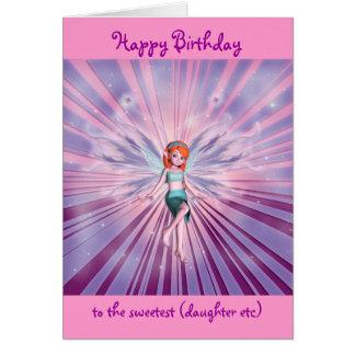 Granddaughter happy birthday customizable cards