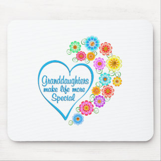 Granddaughter Special Heart Mouse Pad