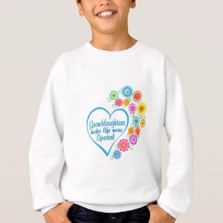 Granddaughter Special Heart Sweatshirt