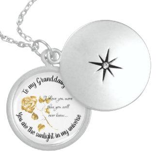 Granddaughter Sterling Silver Necklace