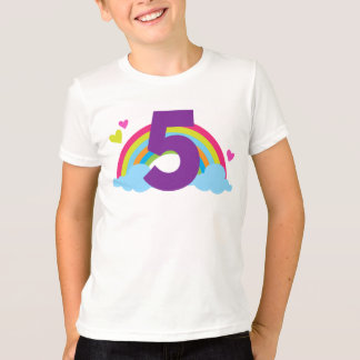 Granddaughters Fifth Birthday T-Shirt