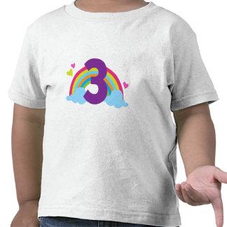 Granddaughters Third Birthday Tee Shirt