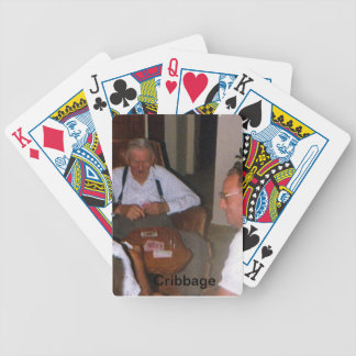 Grandfather Cribbage Playing Cards