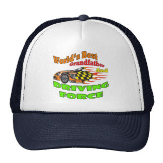 Grandfather Driving Force Father's Day Gifts Trucker Hat