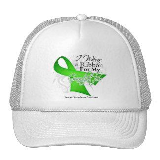 Grandfather Lime Green Ribbon - Lymphoma Mesh Hat
