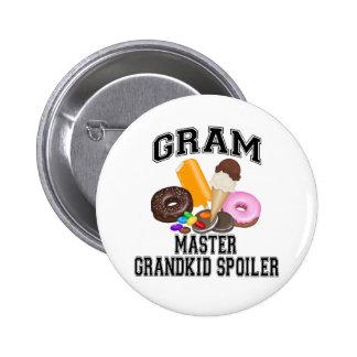 Grandkid Spoiler Gram Pins