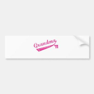 Grandma '11 T-shirt Bumper Stickers
