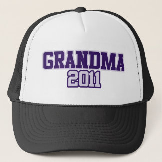 Grandma 2011 Granny to be Trucker Hat