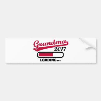 Grandma 2017 bumper sticker