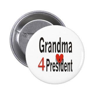 Grandma 4 President button