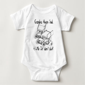 Grandma always said baby bodysuit
