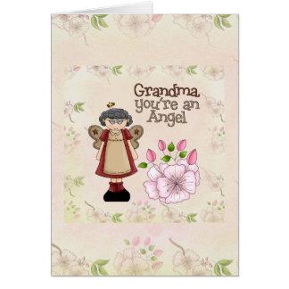Grandma Angel card
