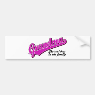 Grandma Bumper Sticker