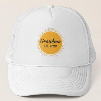 Grandma Est. 2018, New Grandmother Hat
