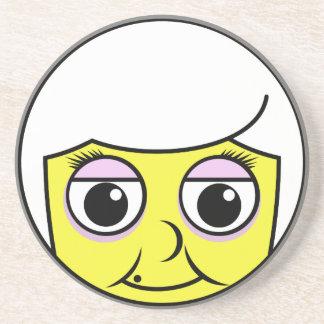 Grandma Face Coaster
