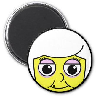 Grandma Face Magnet