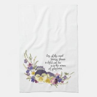 Grandma gifts tea towel