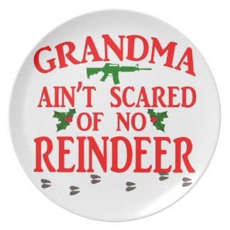 Grandma Got Ran Over Plate
