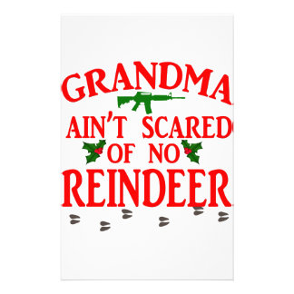 Grandma Got Ran Over Stationery