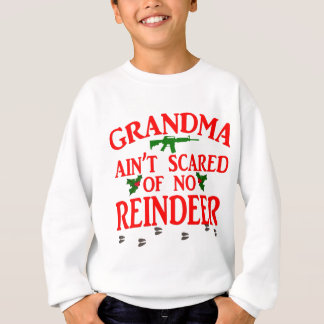 Grandma Got Ran Over Sweatshirt