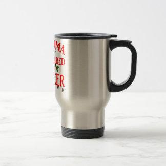 Grandma Got Ran Over Travel Mug