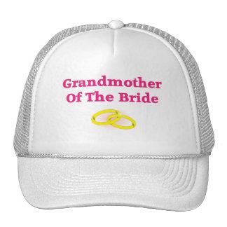 Grandma / Grandmother Of The Bride Mesh Hat