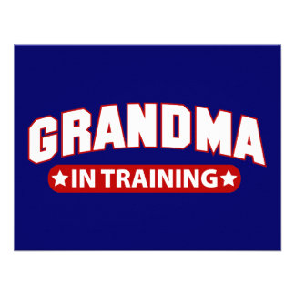 Grandma In Training Announcement