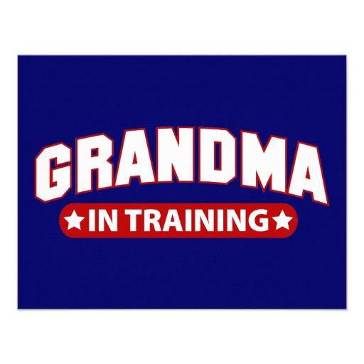 Grandma In Training Announcement