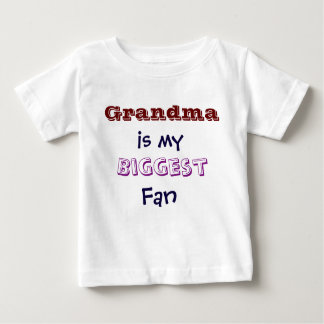 Grandma is my biggest fan Infant Toddler T-Shirt