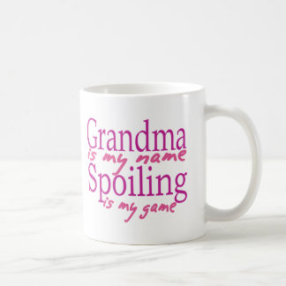 Grandma is my Name Basic White Mug