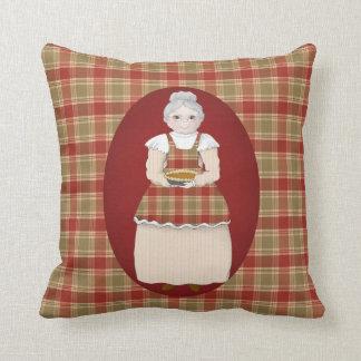 Grandma Is the Heart of Hearth and Home Cushion