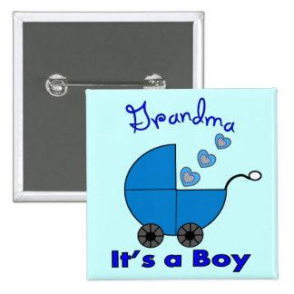 "Grandma"" IT'S A BOY"" Gifts Pin"