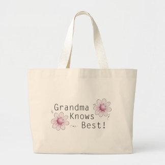 Grandma Knows Best Tote Bags