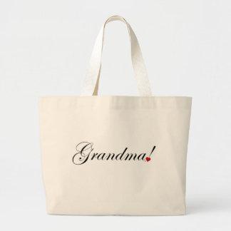 Grandma Large Tote Bag