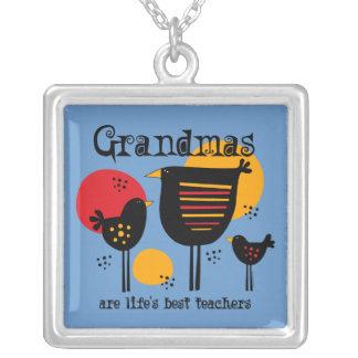 Grandma Life's Best Teacher Necklace