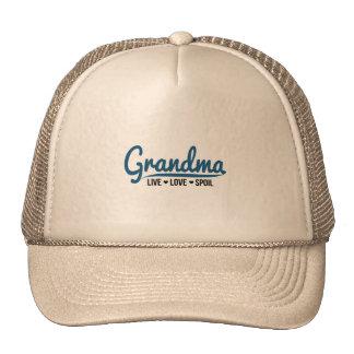 Grandma Live Love Spoil Cap