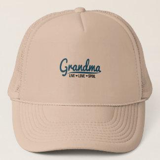 Grandma Live Love Spoil Trucker Hat