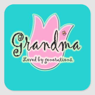 Grandma Loved By Generations - Grandmother Gifts Sticker