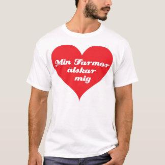 Grandma Loves Me (Swedish) T-Shirt