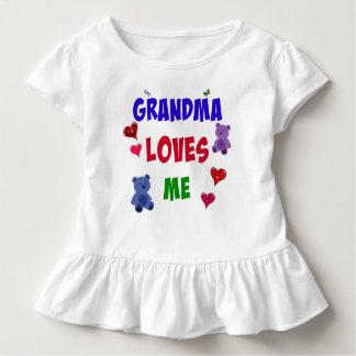Grandma Loves Me Toddler T-Shirt
