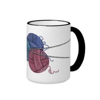 Grandma Loves to knit coffee mug