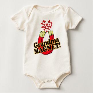 Grandma Magnet Baby Bodysuit