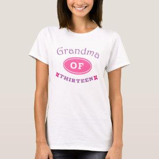 Grandma of 13 T-Shirt