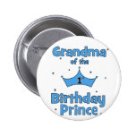 Grandma of the 1st Birthday Prince! Buttons