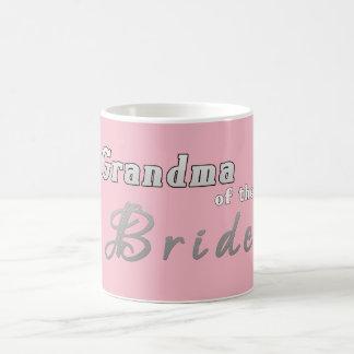 Grandma of the Bride Wedding Party Mug